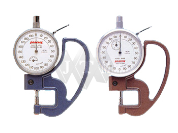 thickness gauge, thickness measuring gauge